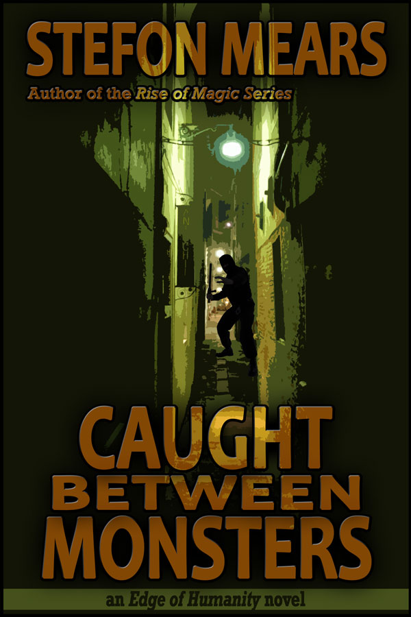 Caught Between Monsters - Stefon Mears - Web Cover